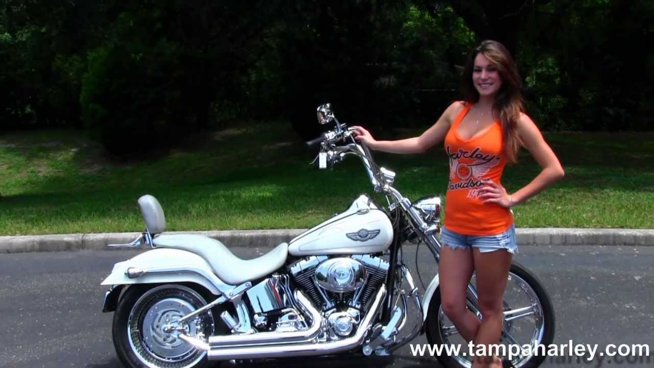 Used Harleys For Sale >> Used 2003 Harley-Davidson FXSTD Softail Deuce for Sale - YouTube