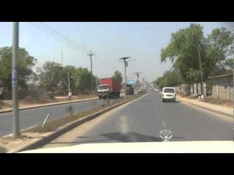 Driving through Juba City December, 2011