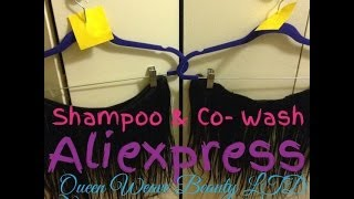 Aliexpress| Shampooing and Conditioning Thumbnail