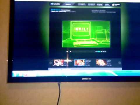 Звук через DVI - HDMI кабель на IRU Home Nettop 111 - Видео