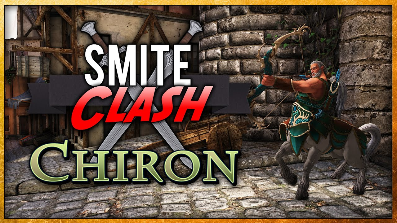 smite how to play chiron