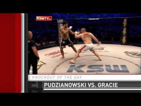 Knockout of the Day: Mariusz Pudzianowski Clubs Rolles Gracie at KSW 31