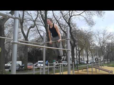 street workout à Paris
