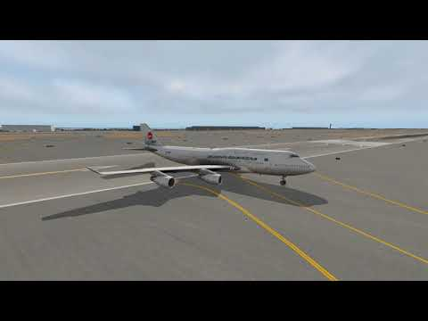 X-Plane Livery For Biman 747 Leased From Air Atlanta Icelandic