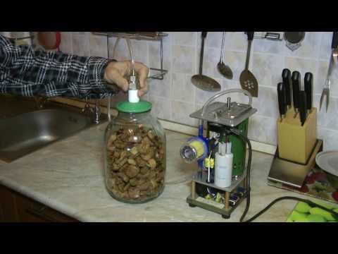 Вакуумные крышки; механизация применения