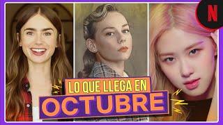 Estos son los estrenos de octubre | Netflix Latinoamérica