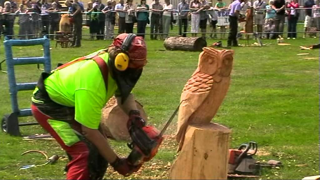 Chainsaw carving for utube mpg youtube