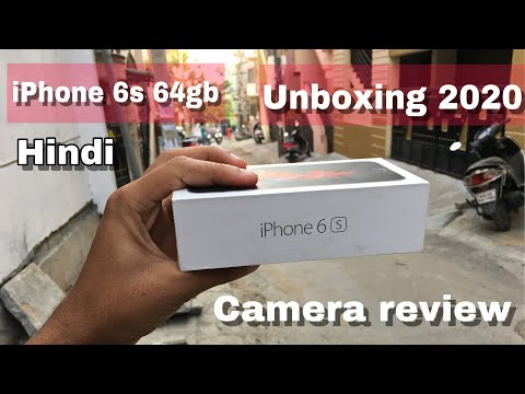 IPhone 6s 64gb Unboxing Hindi 2020 February 4 Camera Test