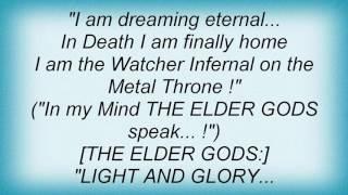 Sacred Steel - Throne Of Metal Lyrics