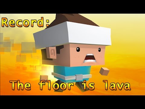 Best my Record The floor is Lava. Provate a superarmi.
