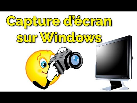 Comment faire une capture d'écran sur Windows