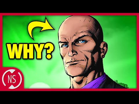 Why is LEX LUTHOR Bald? || Comic Misconceptions || NerdSync