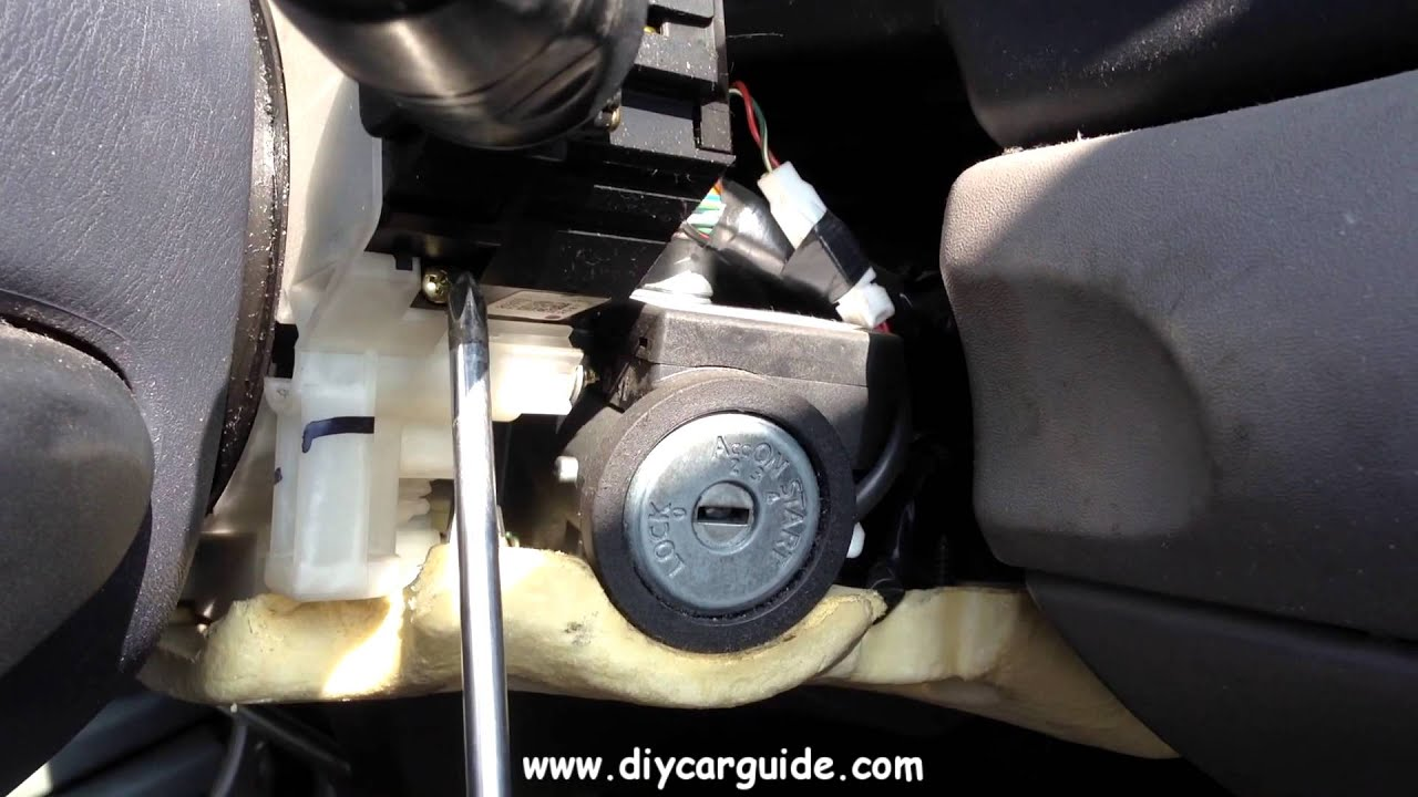 Nissan Almera Wiper Switch Replacement YouTube