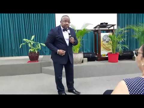 Grand Cayman conference  When evil altars are raised against the church with Kevin L A Ewing