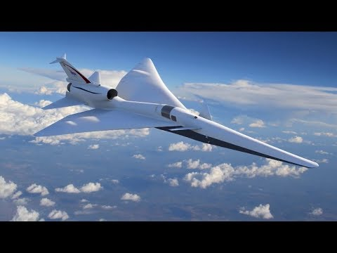 NASA X-Plane Looks To The Future of Supersonic Flight
