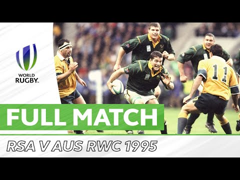 Rugby World Cup 1995: Pool A - Australia V South Africa