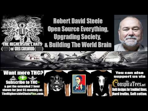 Robert David Steele | Open Source Everything, Upgrading Society, & Building The World Brain