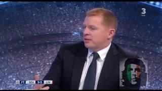 Sevilla 3-3 Liverpool Post Match Analysis Souness, Lennon