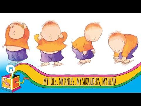 My Toes, My Knees, My Shoulders, My Head | Nursery Rhyme | Karaoke