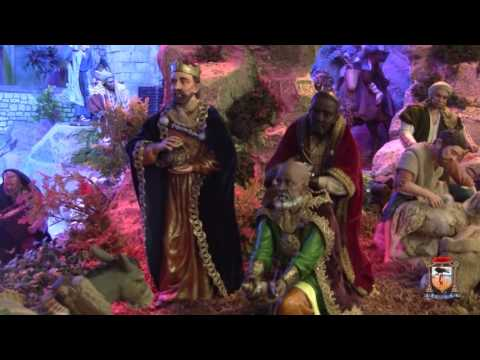Blessing of the Manger scene, Pietermaai Cathedral 2016