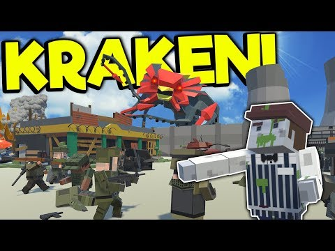 MASSIVE KRAKEN ATTACKS MAD MAX TOWN! - Tiny Town VR Gameplay - Oculus VR Game