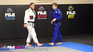 Grip Breaking in BJJ - Judo grip With Olympic Medalist Travis Stevens