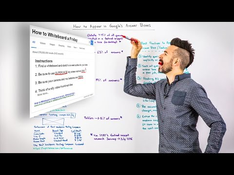 How to Appear in Google's Answer Boxes - Whiteboard Friday
