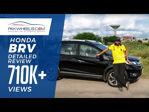 Honda BRV Detailed Review: Price, Specs & Features | PakWheels