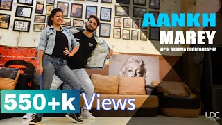 SIMMBA - Aankh Marey Dance Video | Vipin Sharma Choreography | Bollywood and Popping Best Dance