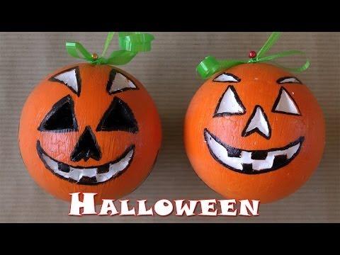 Manualidades para halloween calabazas manualidades para todos youtube - Como hacer calabazas de halloween ...