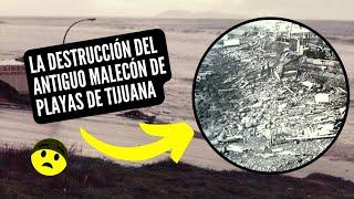 El Final Del Antiguo Malecón De Playas De Tijuana