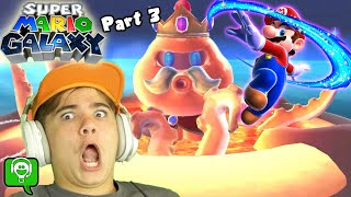 Mario Galaxy Part 3 The Donut is LAVA with HobbyGaming