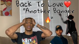 Chris Brown - Back To Love (Official Video) *REACTION*