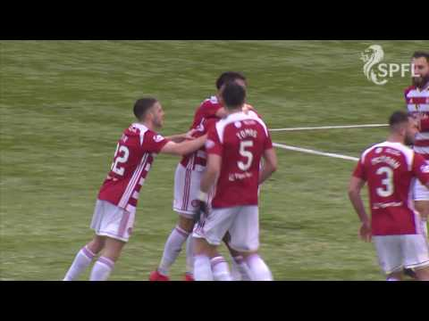 Greek striker Ogboe scores with cheeky backheel!