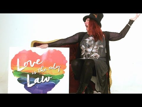 Love Is The Only Law - 50 Years Legal Charity Single with Katherine Ellis