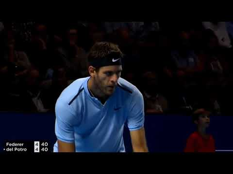 Roger Federer vs Juan Martin del Potro Basel Swiss Indoors 2017 Highlights HD