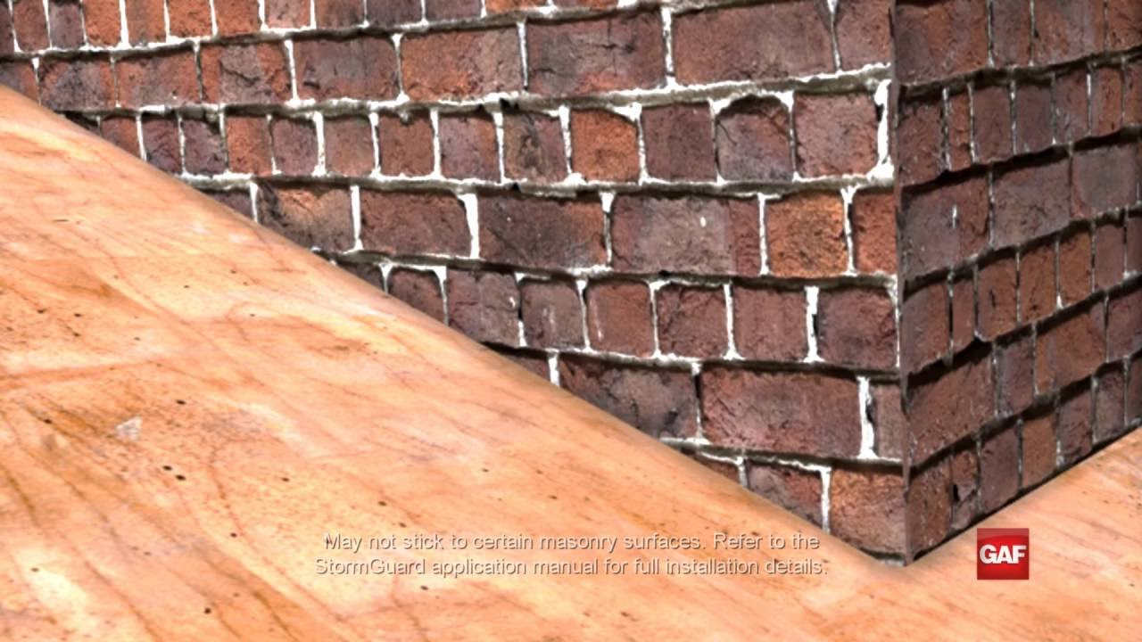 How To Install A Film Surfaced Leak Barrier Gaf