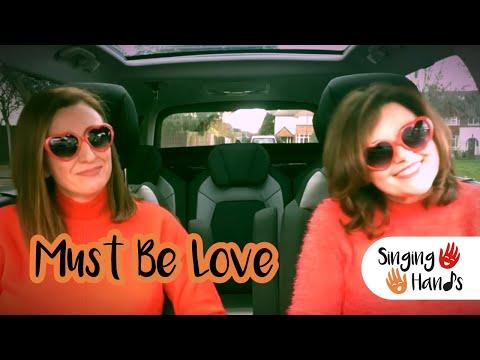 Makaton Carpool Karaoke - It Must Be Love - Singing Hands