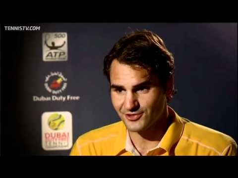 Federer Talks About Dubai Semi-final Win Vs Gasquet