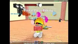Roblox Boss Battle Minigames 2.0 - Mecha Pinkie Pie Battle