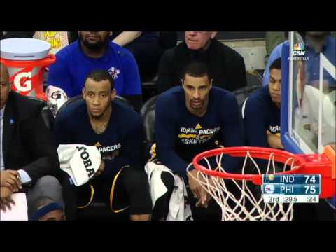 Indiana Pacers vs Philadelphia 76ers | April 2, 2016 | NBA 2015-16 Season