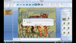 Make animations in Powerpoint 2007