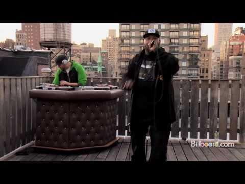 Bun B - Trillionaire (Rooftop session) LIVE + INTERVIEW