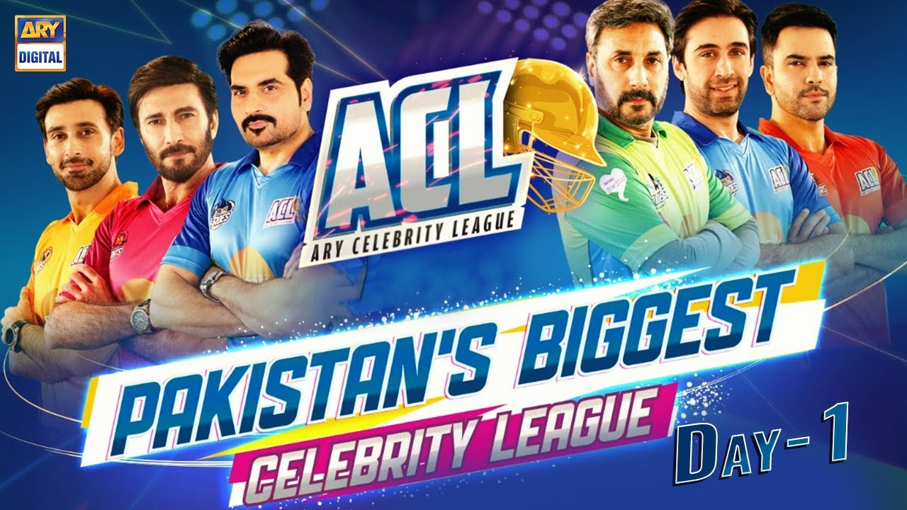 Download ARY Celebrity League   Day 1   ARY Digital