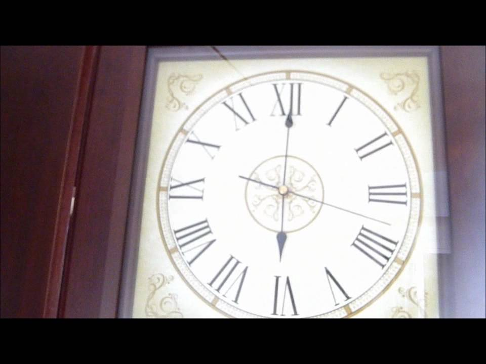 1996 Daniel Dakota Battery Operated Westminster Grandfather Clock
