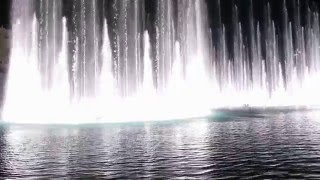 Beautiful Dubai Fountain Dancing on Nice Arabic Song