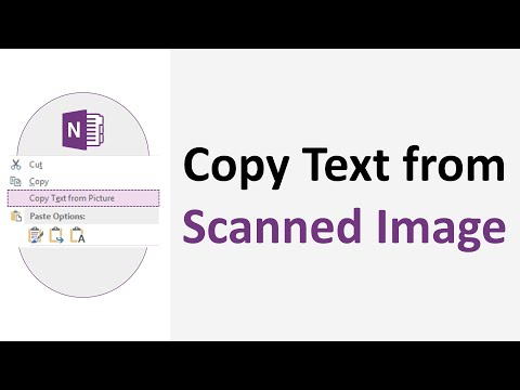 Copy Text from Image | OneNote Tutorial