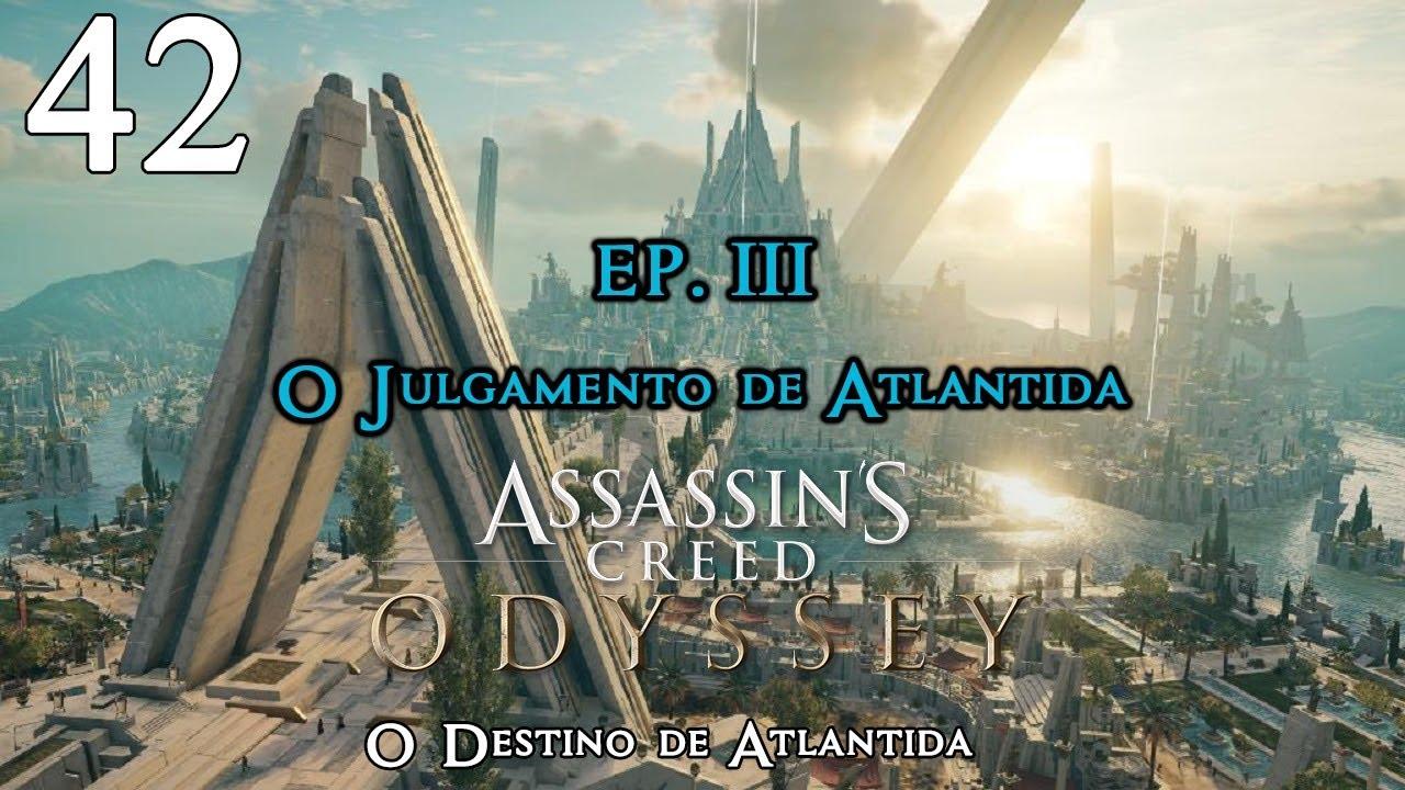 AC Odyssey: Doma Fortificada de Mnéseas | DLC O Destino de Atlântida -  Parte 42