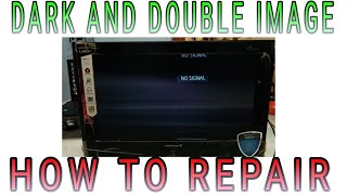 VIDEOCON LED TV PANEL DARK AND DOUBLE IMAGE PROBLEM SOLVED