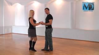 Сальса. Видео урок №3 от MostDance.com (Голинищенко, Вишняков)
